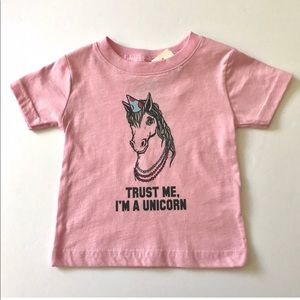 Kid Dangerous Unicorn Shirt